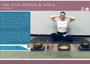 The Five Senses & Yoga with Yolande 26 Oct 2020